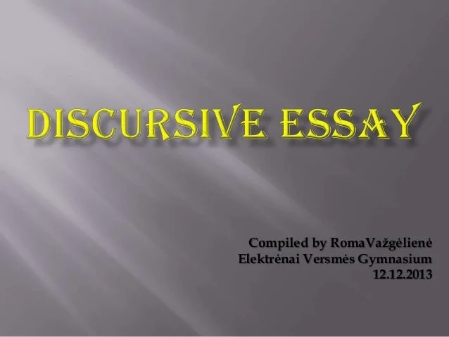 Help Writing My Paper Discursive Essay Topics Higher