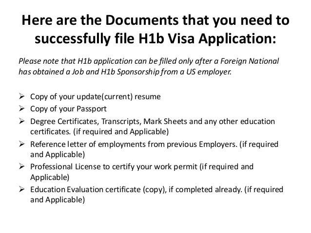resume visa application usa