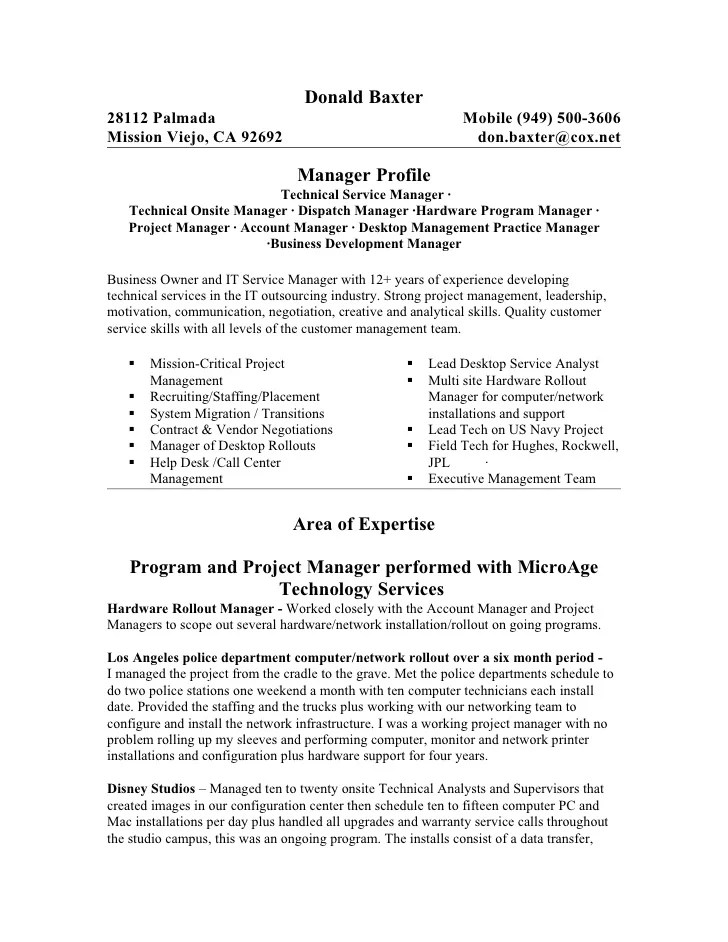 Project Supervisor Resume Vosvetenet – Sales Supervisor Resume