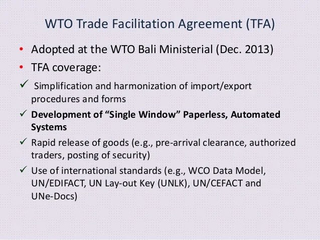 IASToppers-Trade-Facilitation-Agreement Bali Agreement On Trade Facilitation
