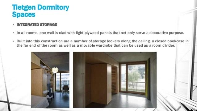 Dormitory Case Studies
