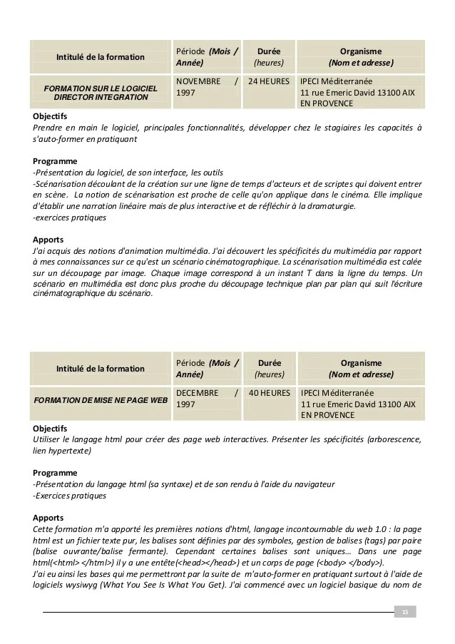 modele cv biologiste medical