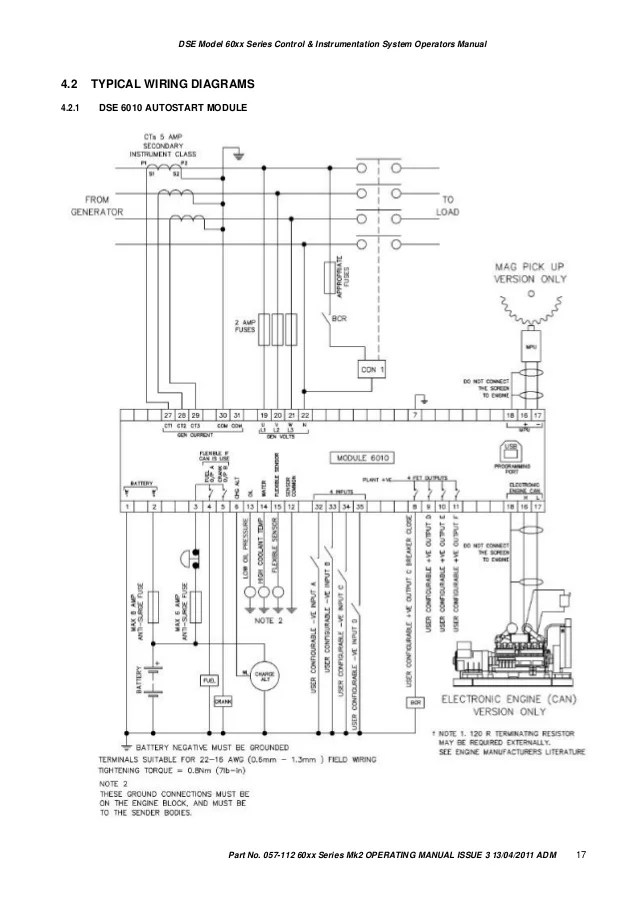wiring diagram dse 6020