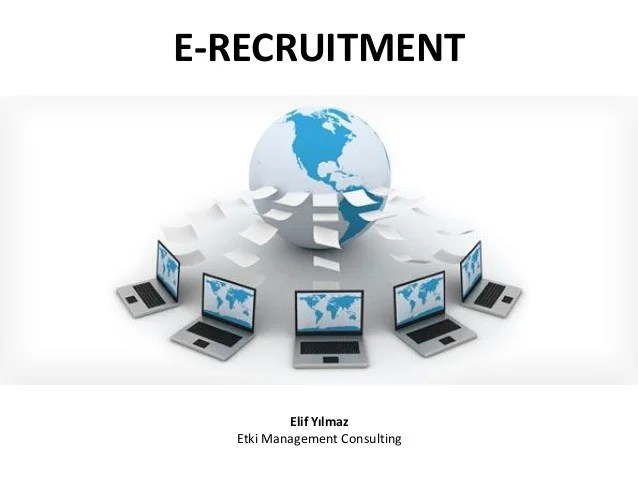 Online Recruitment E Recruitment