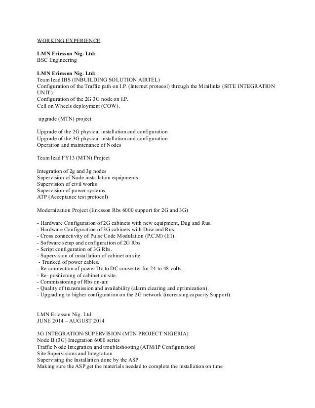 Assistant Rig Electrician Resume - Eliolera - electrician resume template