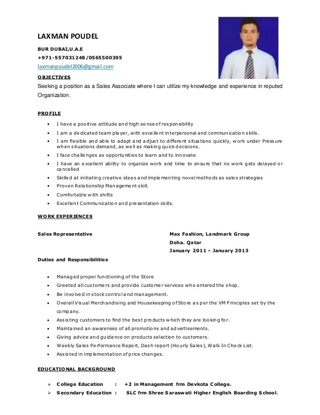 Example Resume Objectives Pharmaceutical Sales Resume Example Sales Cv Of Laxman