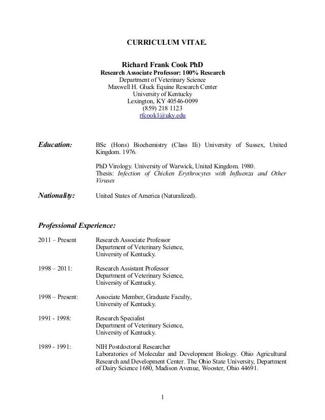 Cv Advice College Of Veterinary Medicine Kansas State 28 Curriculum Vitae Veterinarian Cv Template