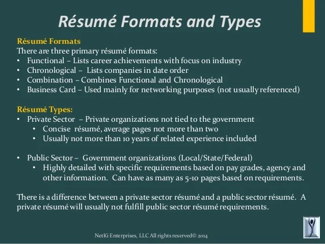 types of resumes samples resume samples types of resume formats