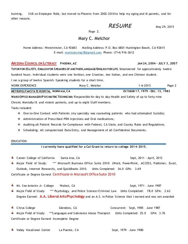 resume for tutoring - Goalgoodwinmetals