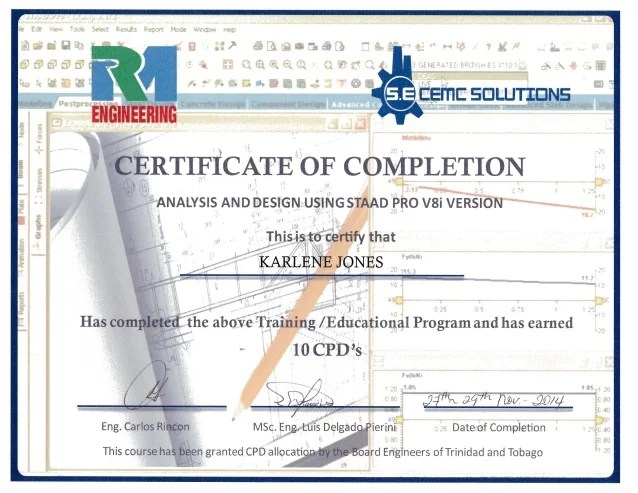 certificate of completion design - Apmayssconstruction