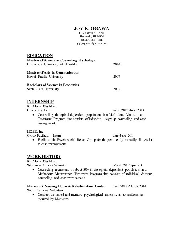 resume counselor - Minimfagency - counselor resume