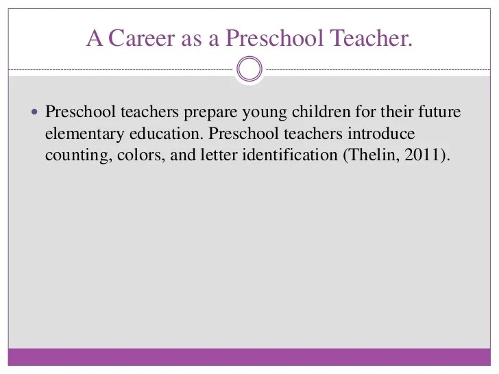4 Sample Teaching Philosophy Examples Thoughtco Early Childhood Education Slideshare Final Draft