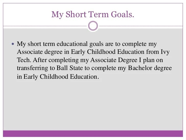 short term and long term career goals essay 17 best ideas about the