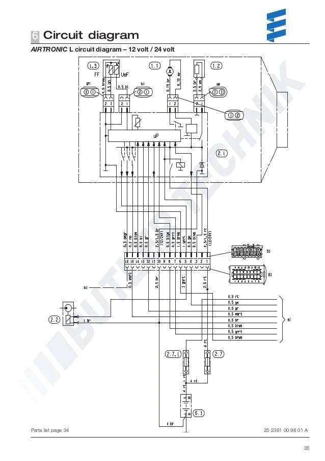 eberspacher d3l wiring diagram