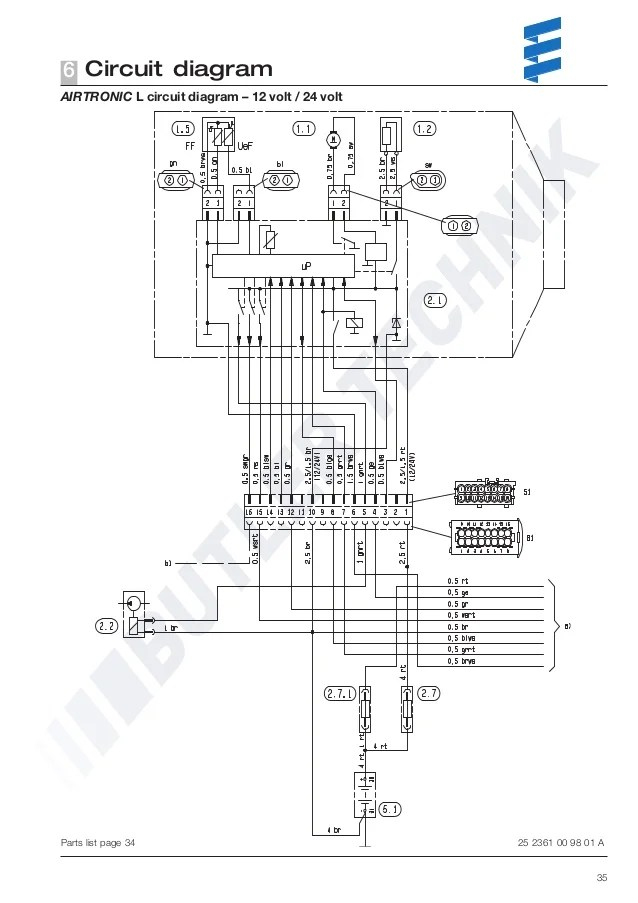 eberspacher d5 wiring diagram