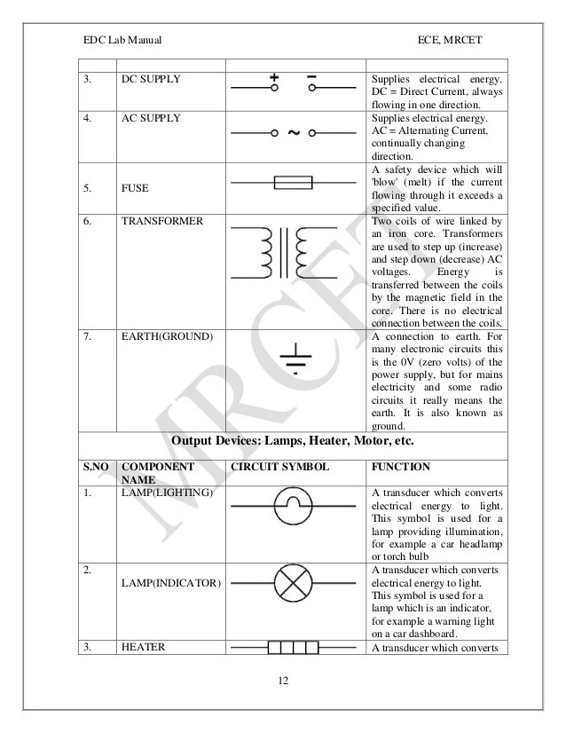 circuits and devices lab manual