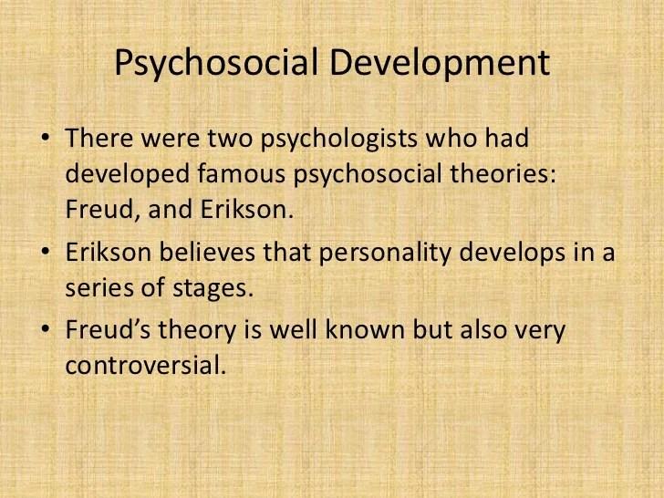 Erikson39s Psychosocial Stages Of Developmetn