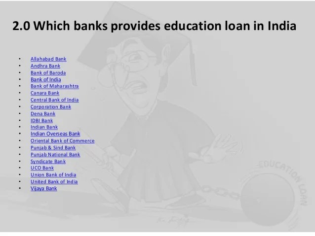 Education Loan Process in India