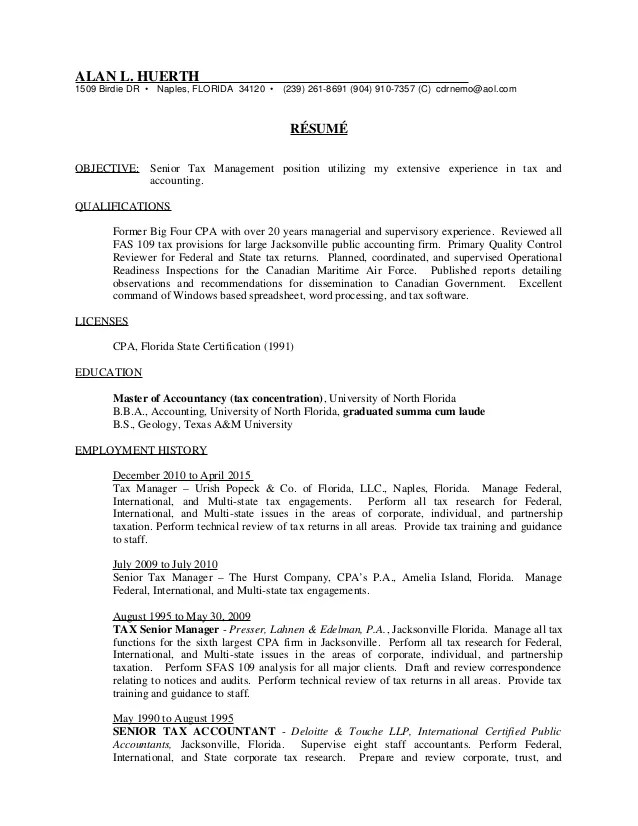 resume for tax accountant radiovkm