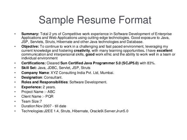 sun certified java programmer resume sample