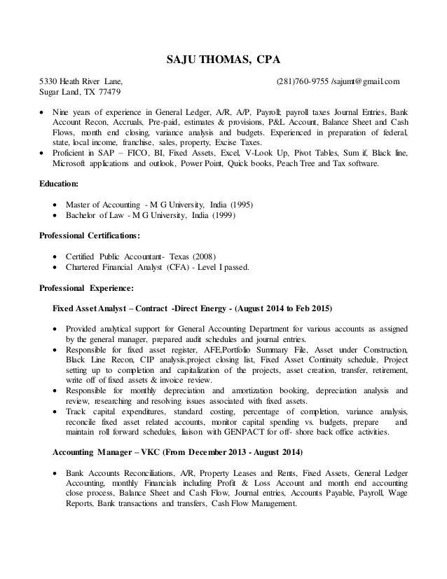 cpa on resumes - Minimfagency