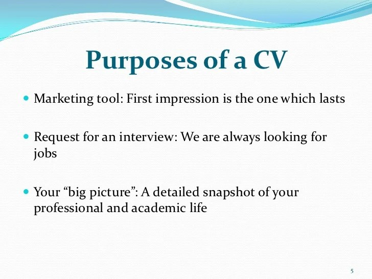 cv resume marketing