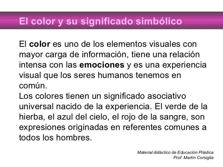 El Color Y Su Significado Simbolico