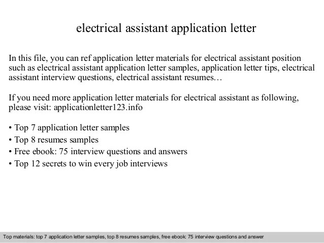 electrician assistant resumes - Goalblockety - electrician assistant sample resume