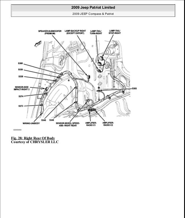 2014 jeep compass wiring diagram