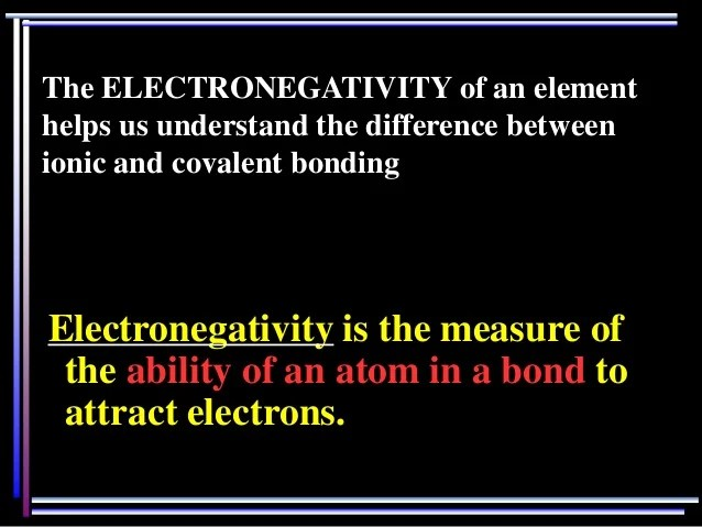 Best Free Templates » elements with similar electronegativities form - electronegativity chart template