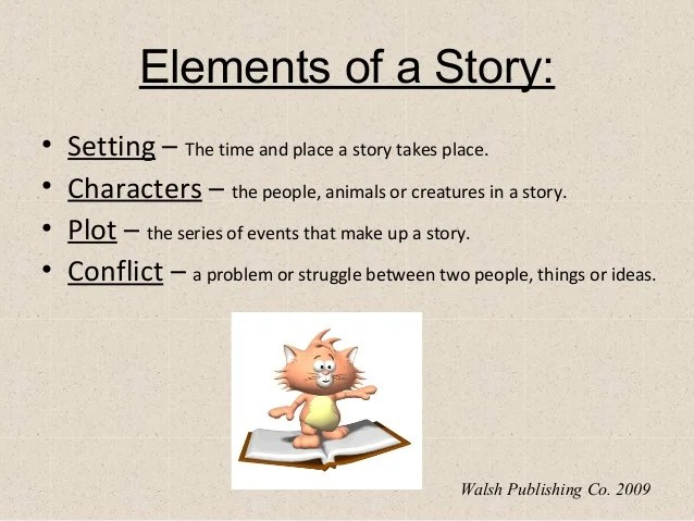 Elements Of A Story Powerpoint