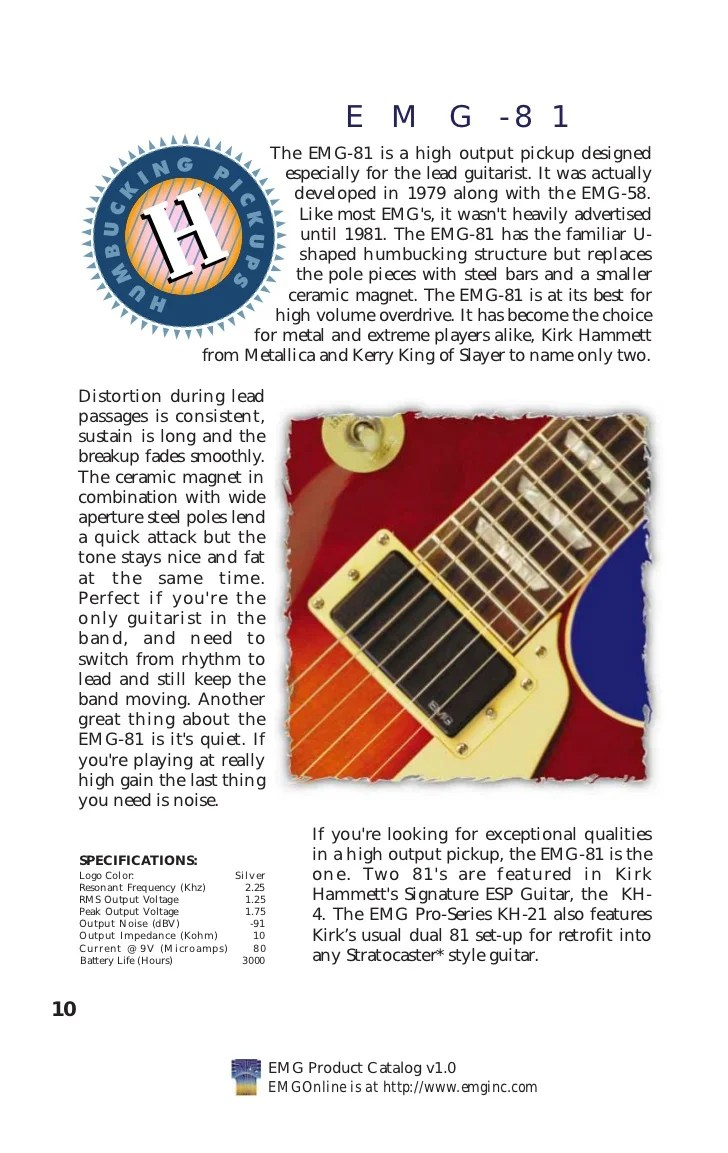 Wiring Diagram Emg Kh20 Auto Electrical Guitarelectronics Custom Drawn Guitar Diagrams Kirk Hammett 31 Images