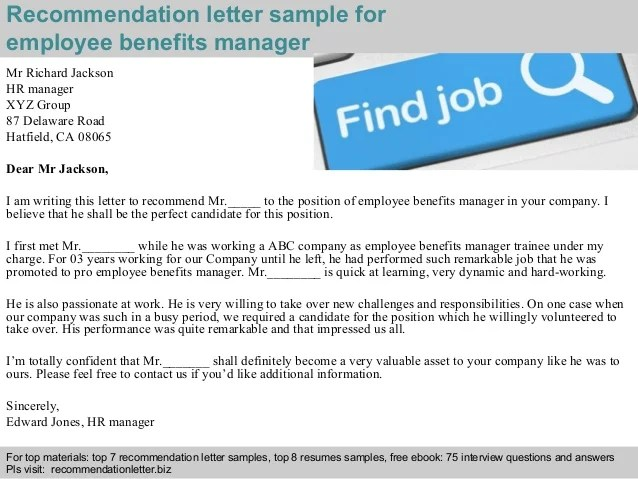 recommendation letter for employee from manager - Timiznceptzmusic