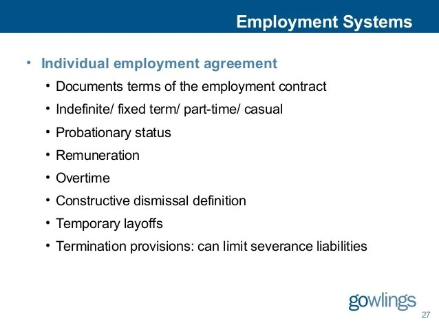 Employment Contract Indefinite Term – Casual Employment Agreement