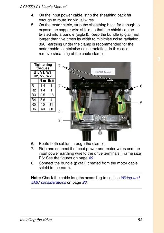 Abb Ach550 Wiring Diagram - Wiring Diagrams Wire