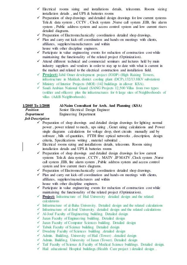 resume for electrical design engineer - Yokkubkireklamowe