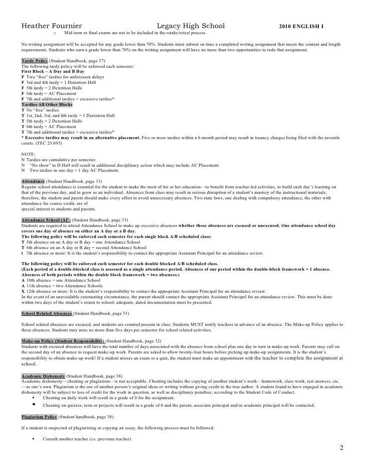 high school english syllabus template - Boatjeremyeaton - syllabus template