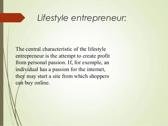 Entrepreneurship powerpoint slide