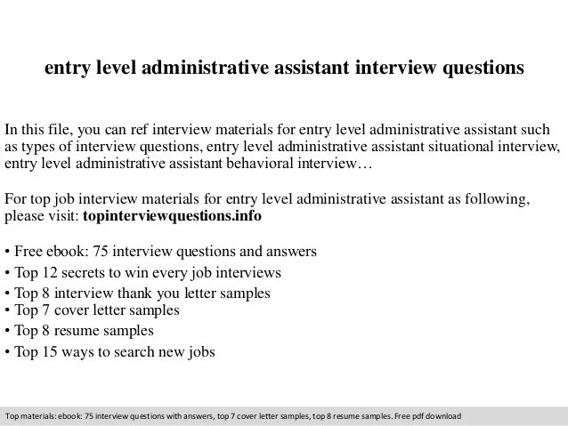 entry level administrative assistant job description - Minimfagency - administrative assistant job description sample