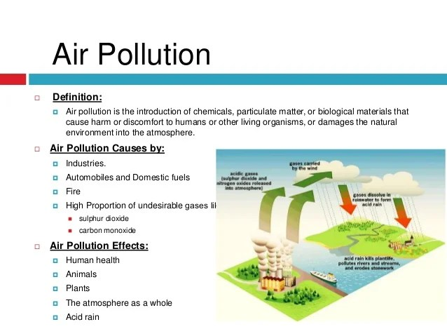 write an essay on effect of pollution What are the causes and effects of air pollution analyze the cause of air pollution and how this phenomenon influences on the environment, our health and animal life have problems with essay writing.