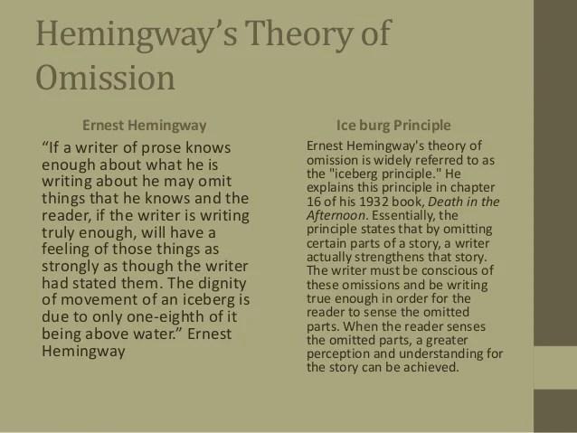 Essay Hemingway Antitesisadalahxfc2com