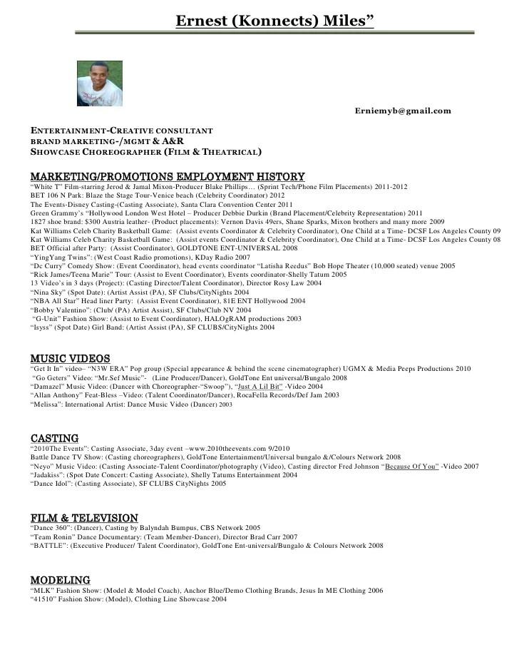 casting resumes - Romeolandinez