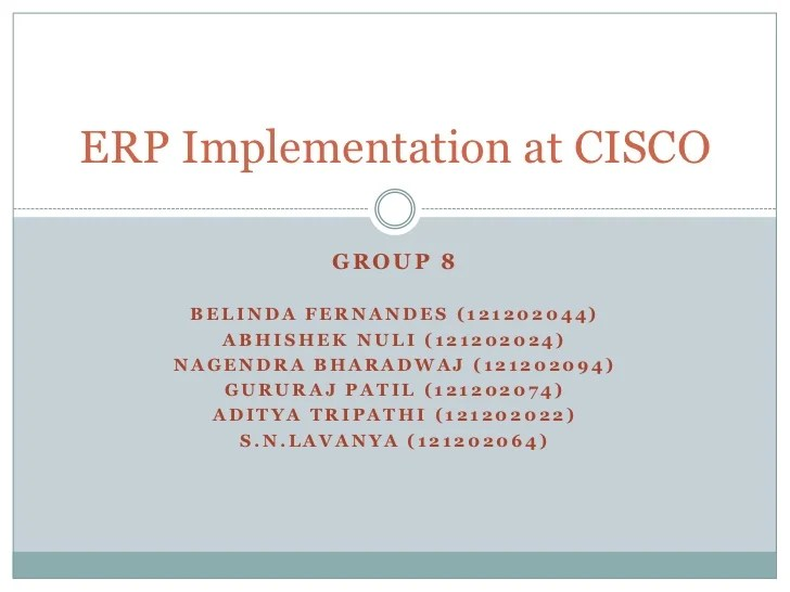 Oversubscription And Density Best Practices Cisco Erp Implementation At Cisco