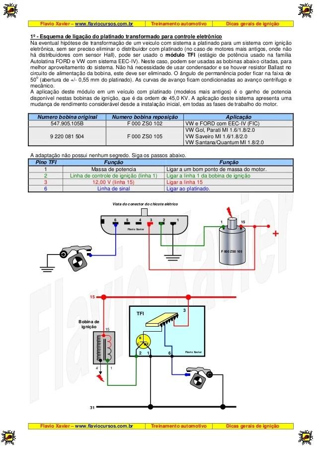 98 Jetta Fuse Box Diagram Esquema De Liga 231 227 O Do Platinado Transformado Para Controle