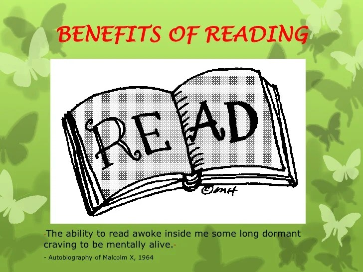 benefits of reading essay for pmr