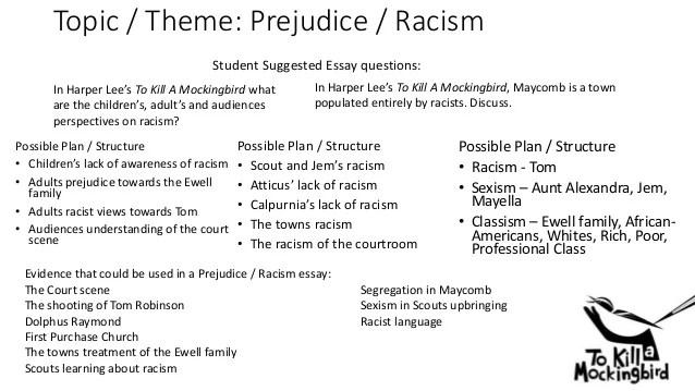 racism in to kill a mockingbird essay