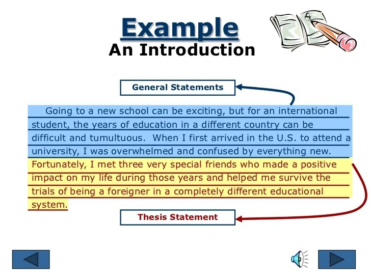 introduction examples for essay