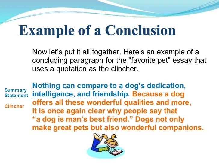 argumentative essay conclusion examples
