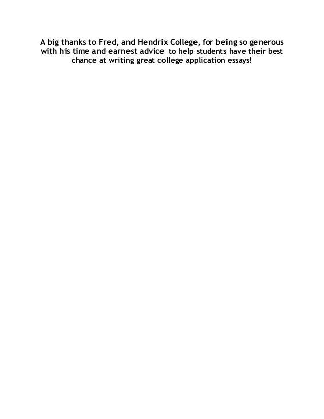 pocketful of essays rhetorically arranged