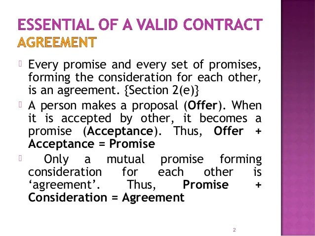 Contract Law Agreement Offer And Acceptance  Resume Maker Create